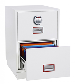Phoenix FS2250E Series 2 Drawer Vertical Fire Safe with Electronic Lock